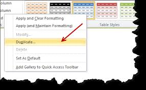customize zebra lines quickly using table styles tip chandoo