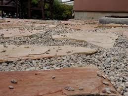 Patio Rocks How To Build A Loose Material Patio Dengarden