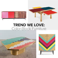 color furniture trend we love color block furniture color blocking paint