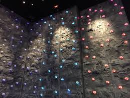 spinning l that projects pictures on the walls led handholds spectrum sports int l