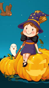 cute halloween images cute halloween phone wallpaper wallpapersafari