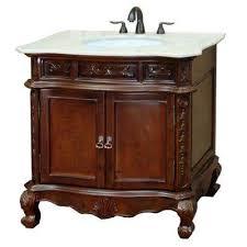 Cream Bathroom Vanity by 32 34 In Cream Bathroom Vanities Bath The Home Depot