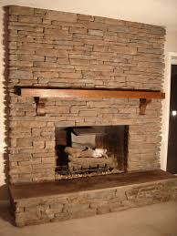 fireplace designs with stone home design