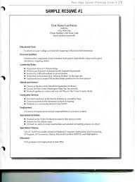 Resume With Community Service Examples Of Resumes Resume Templates Restaurant Cashier Job