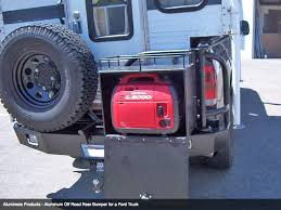 ford truck bumper aluminess rear bumper ford duty line overland