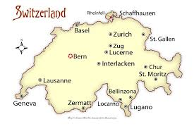 swiss map switzerland cities map and travel guide