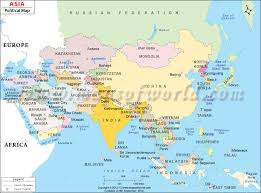 printable map of asia with countries and capitals political map of asia with countries and capitals