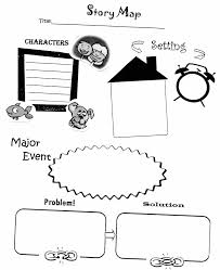 scarecrow writing paper story map graphic organizer education lang arts writing story map graphic organizer