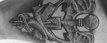 60 star of life tattoo designs for men u2013 ems emt and paramedic