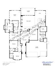 silver oak floor plan u2013 blackstead building co