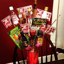 Homemade Valentines Gifts For Him by Valentine U0027s Day Bro Quet Liquor Lottery Tickets And Cigars