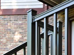 keystone aluminum deck railing kits penn fencing
