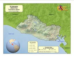 El Salvador On World Map by El Salvador Worldmap Org
