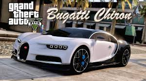 car bugatti chiron gta 5 bugatti chiron in gta v real car mods exclusive dlc