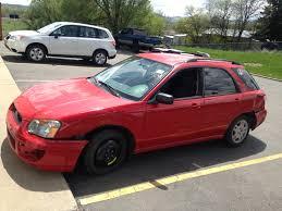 subaru sti 2016 red 2004 subaru impreza ts wagon 5 speed part out the subie recycler