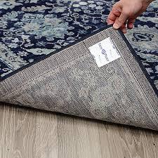 rug pads u0026 accessories non slip rug pad vinyl carpet runners
