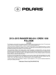 download svm175 ranger 305d service manual docshare tips