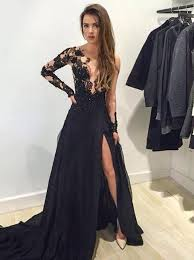black lace dress dress black lace dress black dress black prom dress prom dress