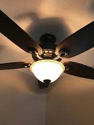 hunter fairhaven ceiling fan hunter fairhaven 52 in indoor basque black ceiling fan with light