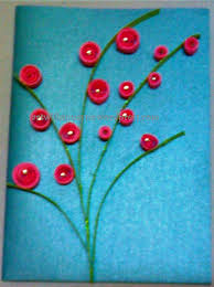 paper greeting cards paper quilled greeting cards flower greetings 1 with sunayna
