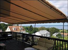 Shade Awnings For Decks Deck Awnings And Shading Coverage For Decks In Southeastern