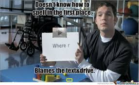 Texting And Driving Meme - texting and driving by dicer34 meme center