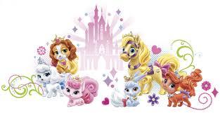 rmk2680gm disney princess palace pets wall graphic wall stickers disney princess palace pets wall graphic wall stickers