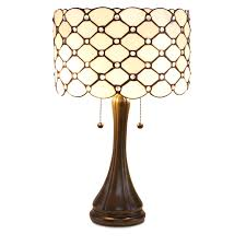 Glass Lamps Serena D U0027italia Tiffany Style Table Lamps Contemporary Diamond
