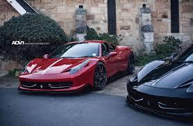Ferrari F12 Matte Black - horsing around in 2 ferrari 458 u0027s on adv 1 wheels adv 1 wheels