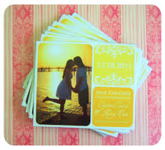 diy save the date magnets wedding save the date ideas