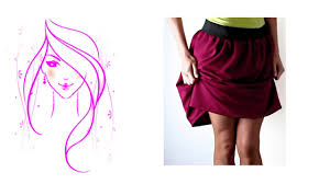 morena diy how to make skirt with elastic tutorial youtube