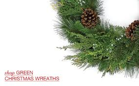 Decorated Christmas Wreaths Wholesale by Artificial Christmas Wreaths U0026 Garlands Santa U0027s Quarters