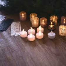 halloween votive candle holders tea lights with decorative wraps in 3 styles and colors u2013 frux