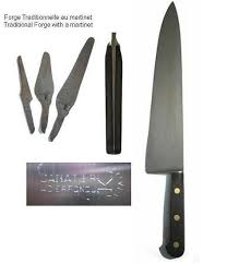 knives canadian 10 in cooking knife carbon antique sabatier