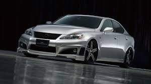 lexus isf sports car lexus is f wald sports line black bison edition new photos