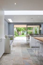 best 25 large open plan kitchens ideas on pinterest modern open 50 degrees north architects ground floor rear extension in south west london open plan kitchen diner with large wall mural love the bench