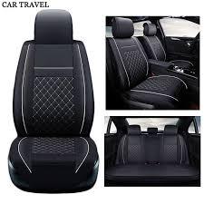 nouveau luxe pu en cuir auto universel siège de voiture couvre siège