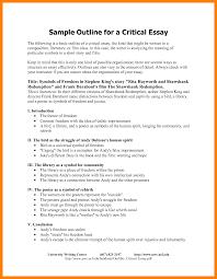 format for essay outline 10 sle essay outline format essay checklist