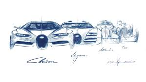 bugatti drawing bugatti design director picks the 6 most iconic models of all time