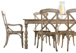 hooker furniture wakefield rectangle leg dining table farmhouse