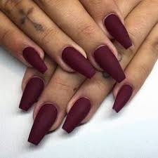 matte periwinkle diy acrylic nail designs for summer nail
