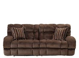 raymour and flanigan power recliner sofa bromley microfiber power reclining sofa chocolate raymour flanigan