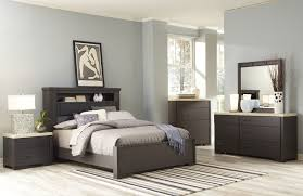 Bedroom Storage Cabinets by White Full Size Bedroom Set Dark Brown Wooden Bed Platform Storage