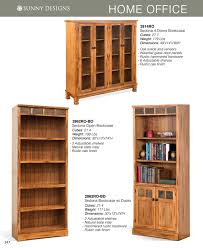 Oak Bookcases With Doors by Prices U2022 Sunny Designs Sedona Office Furniture U2022 Al U0027s Woodcraft