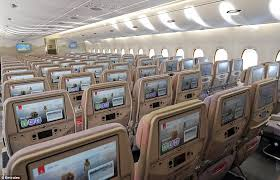 Emirates Airbus A380 Interior Business Class Emirates New Airbus A380 Has A Capacity Of 615 Passengers Daily