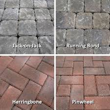 Simple Brick Patio With Circle Paver Kit Patio Designs And Ideas by How To Design And Build A Paver Patio