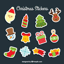 christmas stickers more than a million free vectors psd photos and free icons