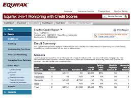 3 bureau credit report free equifax credit sle equifax credit bureau report credit report