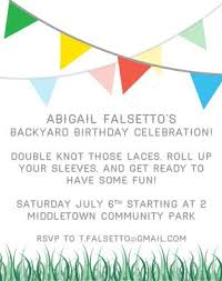 Backyard Birthday Party Invitations by 7 Best Camping Party Images On Pinterest Camping Parties