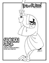 samurai jack tutorial u2013 draw